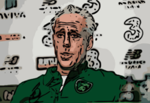 Mick McCarthy Republic of Ireland